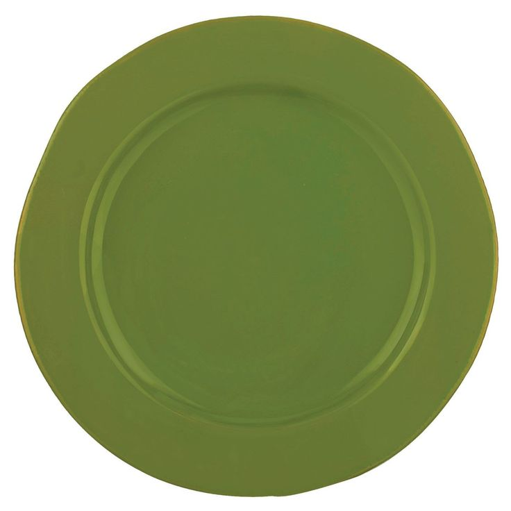 Vietri Basilico Green Service Plate/Charger  sc 1 st  Pinterest & 462 best PLATE CHARGERS-UNDERPLATES images on Pinterest | Plate ...