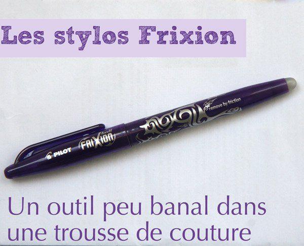 Un outil de couture pas banal : les stylos frixion | astuce | Blog de Petit Citron