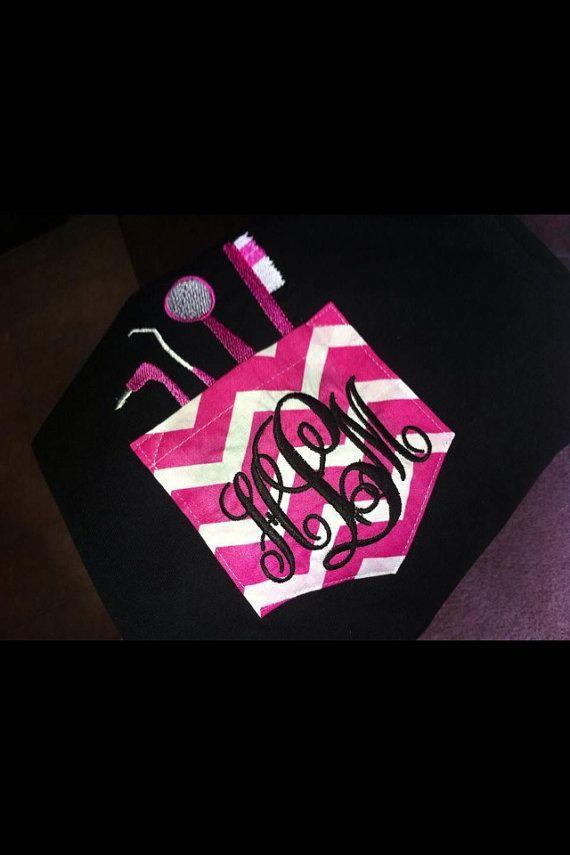 clothing online shopping canada Personalized Dental Pocket Shirt by SLMonograms on Etsy