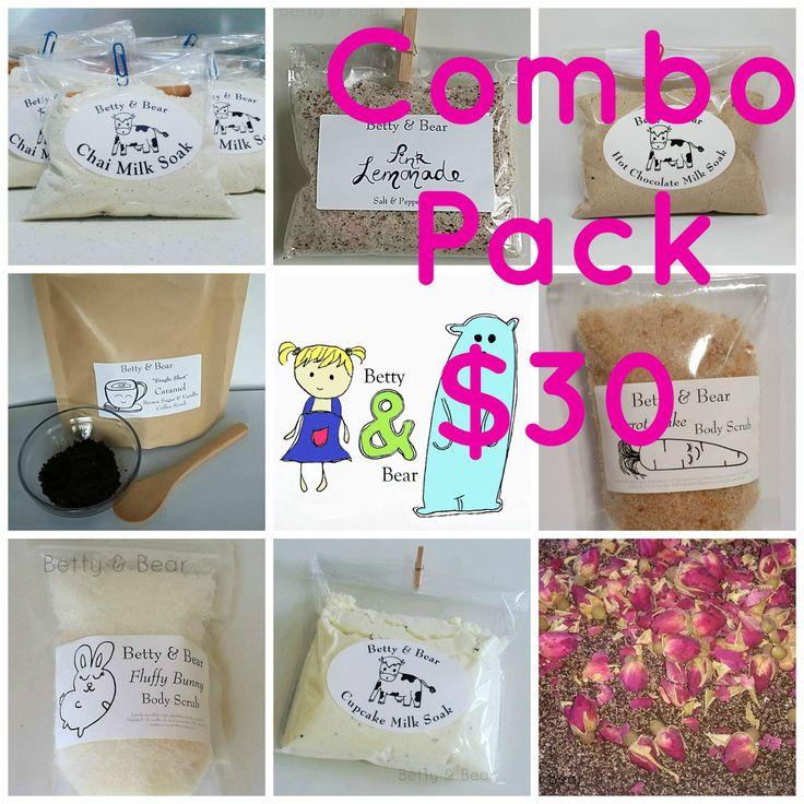 Combo Pack by BettyandBearAus on Etsy