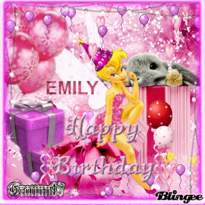 Happy Birthday Emily!! February 1