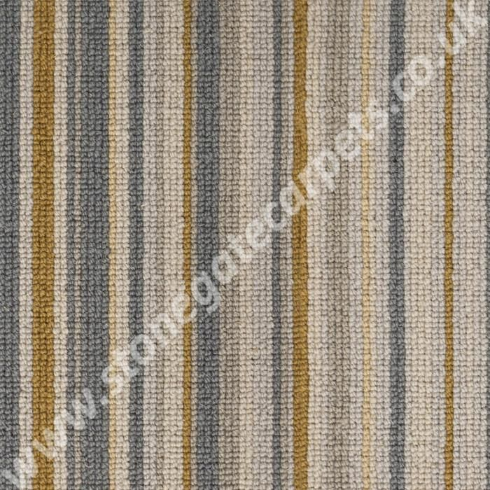 Victoria Carpets Tudor Twist Stripe Antique Gold Per M 178