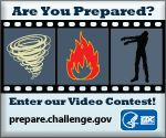 Preparedness 101: Zombie Apocalypse  May 16th, 2011 - I love it when the Federal government has a sense of humor! :-)  Bet you didn't know the CDC included how to prepare for a zombie apocalypse. http://blogs.cdc.gov/publichealthmatters/2011/05/preparedness-101-zombie-apocalypse/
