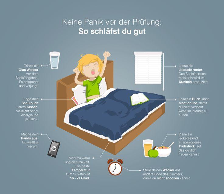 Keine Panik vor der Prüfung. Mit den Tipps & Tricks schläfst du gut vorm Abi. (http://magazin.sofatutor.com/schueler/) #Abitur