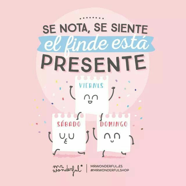 Fin de semana Mr. Wonderful