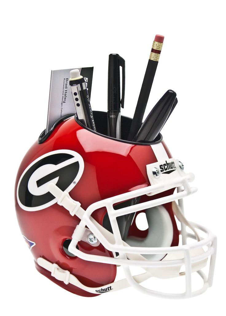 Georgia Bulldogs helmet caddy
