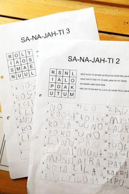 Sanajahti - Tulostettava PDF http://www.haaraamo.fi