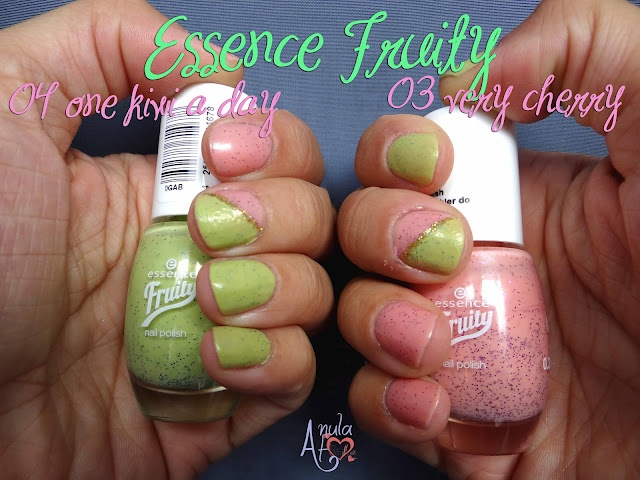 Essence Fruity Polishes