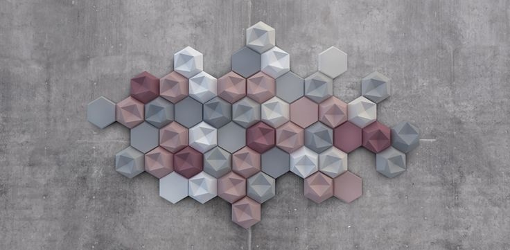 Трехмерная декоративная плитка