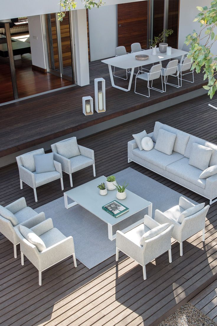 High End Modern Luxury Garden Furniture Set Luxury Garden