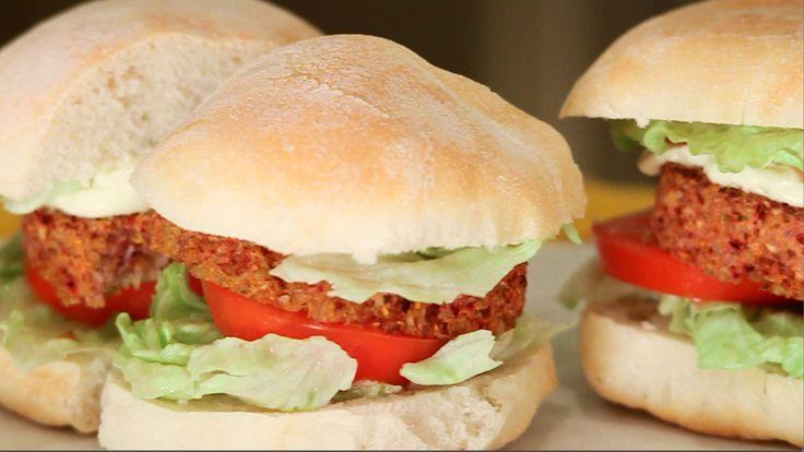 #vegn #veganburger #burger #100%greenkitchen #129sky #leitv.it