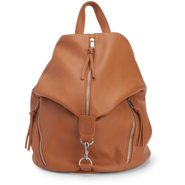 Aeropostale Faux Leather Backpack ($20) ❤ liked on Polyvore featuring bags, backpacks, praline, faux leather bag, aéropostale, faux leather backpack, fake leather backpack and vertical backpack