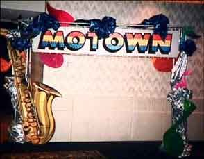 Motown Party Decorations | We have a complete selection of marquee / entrance ways, scenic ...