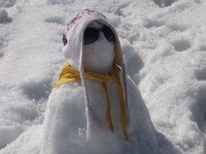 Zima láká k land-artu  4.2.2016   Únor 2016 sněhulák_1 Když napadne sníh, děti spontánně zkouší, co s ním lze všechno vytvořit. S prvním sněhem začínají stavět sněhuláky, vyšlapávají do sněhu různé stopy a obrazce, prstem zkoušejí malovat na sníh na parapetech … Zkuste dětem ukázat, že vlastně výtvarně tvoří. Vysvětlete jim, že výtvarná výchova nemusí probíhat pouze v prostorách školy. Žáci opustí prostory běžné výuky a vycházejí ven. Land – art vybízí ke spojení s environmentální výukou.
