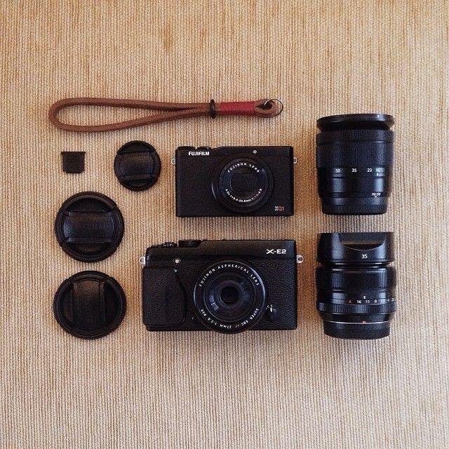 Fujifilm Cameras / photo by Ernanda Putra