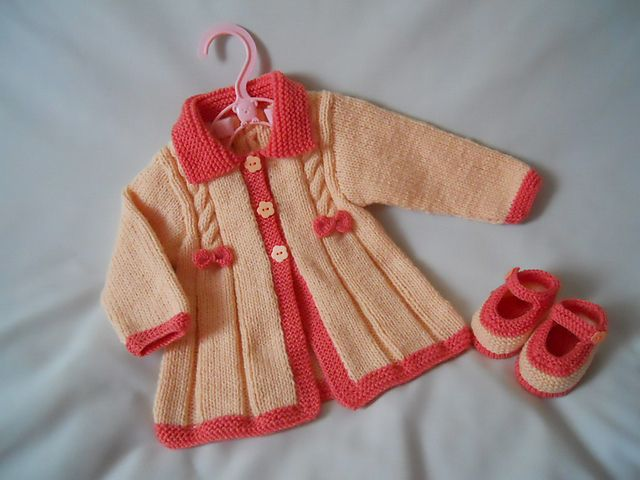 Ravelry: Project Gallery for Little Vintage Morning Coat pattern by Sue Batley-Kyle