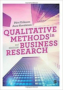 Qualitative Methods in Business Research Introducing Qualitative Methods 2