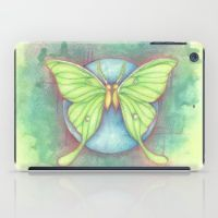 Luna Moths iPad Case