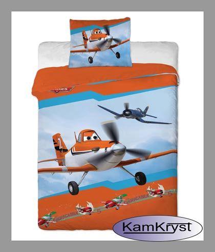 Disney Bedding Planes | Pościel Samoloty w rozmiarze 140x200