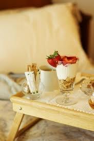 Muesli fruit and jogurt