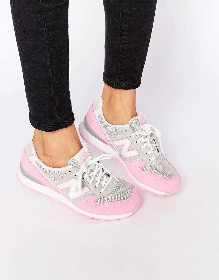 Изображение 1 из Бело-розовые кроссовки New Balance 996