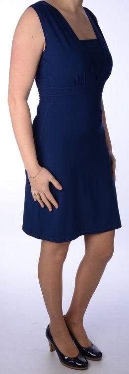Queen Mum voedingsjurk inkt blauw