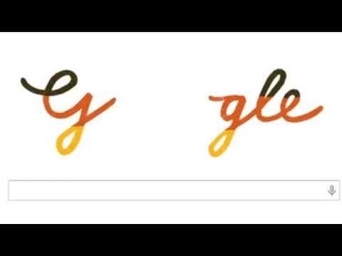 Google Doodle pelo dia da reunificação alemã #DeutscheEinheit