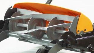 Tondeuse manuelle Fiskars StaySharp Max - Ajustement des lames