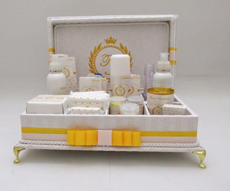 Divina Caixa: Caixa Kit Banheiro para casamentos