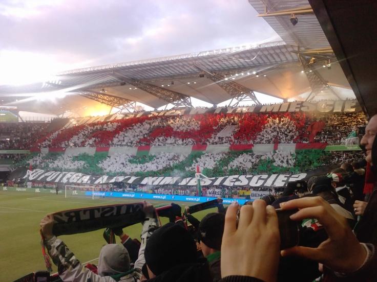 #Legia Warszawa - My favorite #stadium :)