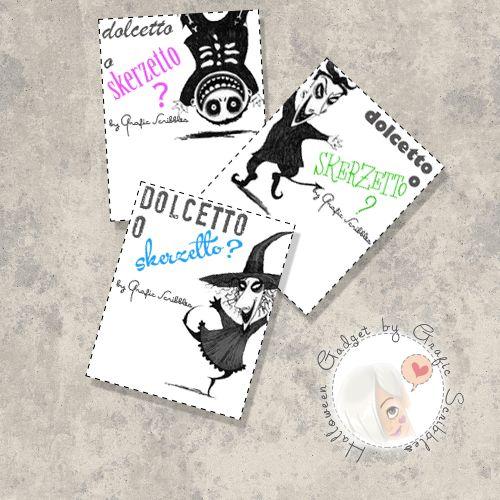 Countdown free per Halloween - Credo sia giunto il momento di mettere qualche mostriciattolo nei blog... http://graficscribbles.blogspot.it/2014/10/countdown-free-per-halloween.html #countdown #halloween #gadget #zucche #mostri #streghe #dolcetto #scherzetto
