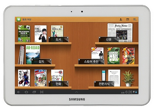 Samsung electronics announced on the 14th that the upgraded 'Readers Hub' service will be provided to Samsung Galaxy Tab 8.9 Wifi and Galaxy Tab 10, starting with Galaxy Tab 8.9 LTE. Readers Hub is 'Samsung's unique e-reading application that makes it easy to enjoy reading all of the newspapers, magazines and books within only one galaxy tablet. This newly updated application offers you a new kind of reading experience with multiple book content forms such as sound, image and footage, unlike…
