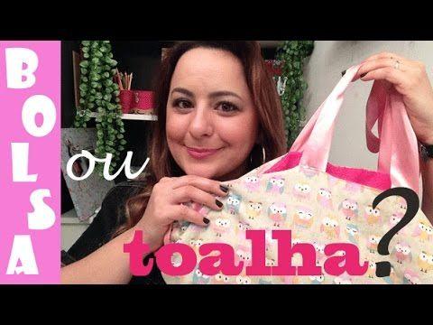 BOLSA OU TOALHA? passo a passo por Camila Camargo - YouTube