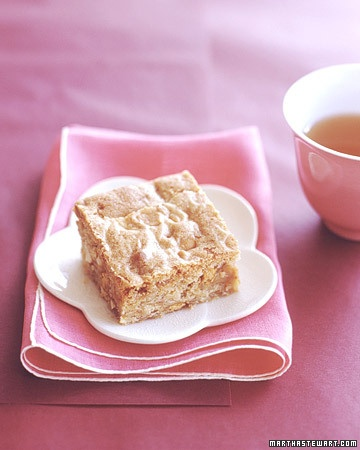 Butterscotch Blondies - Martha Stewart Recipes