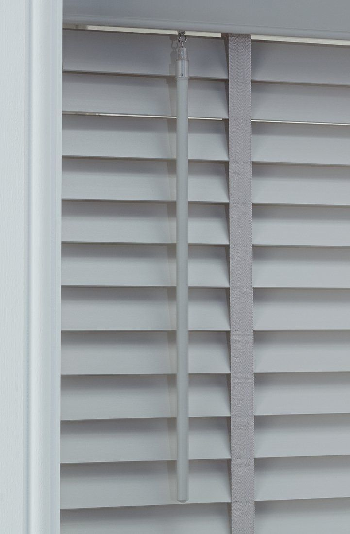 Buy Argos Home Elliott 50mm Wooden Tape Venetian Blind Grey Blinds Argos Blinds Argos Home Venetian Blinds