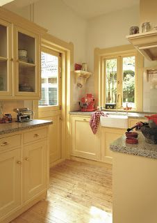 yellow Kitchen Cabinets | Restyled Home: Let the Sunshine in...