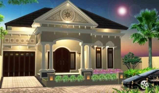 56+ Gambar Rumah Mewah Kampung Terbaru