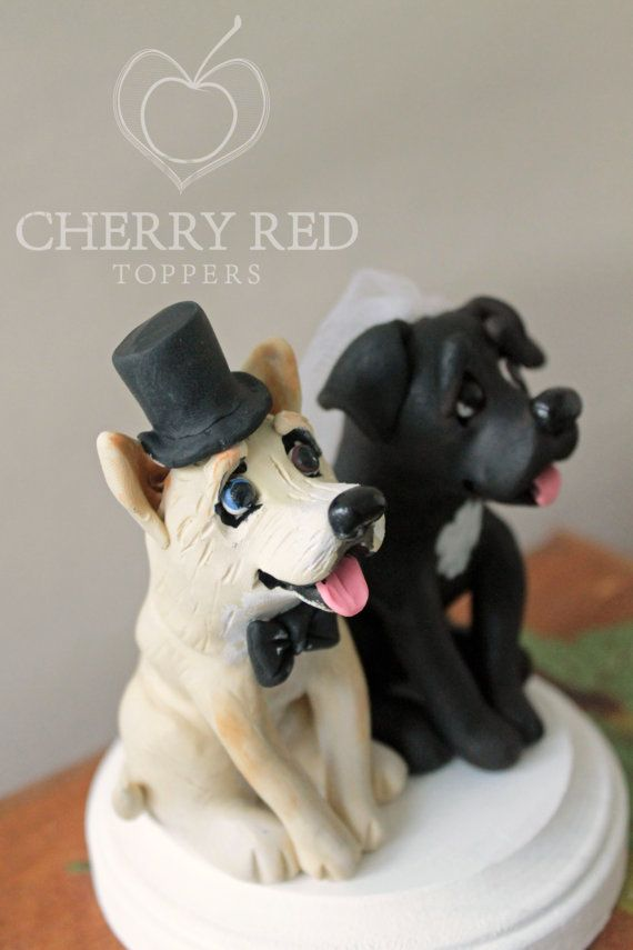 wedding cake topper two dogs 17 best images about polymer clay inspiration on 26645