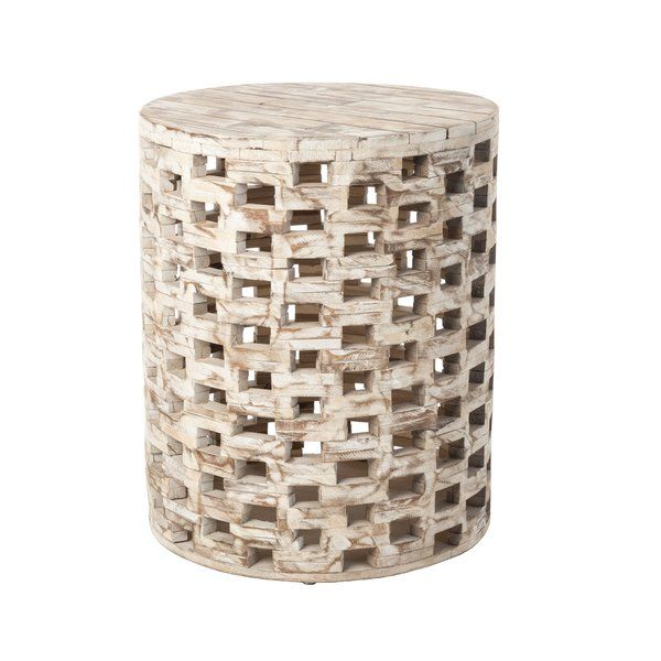 Parker Garden Stool Garden In The Woods Wood Square Unfinished