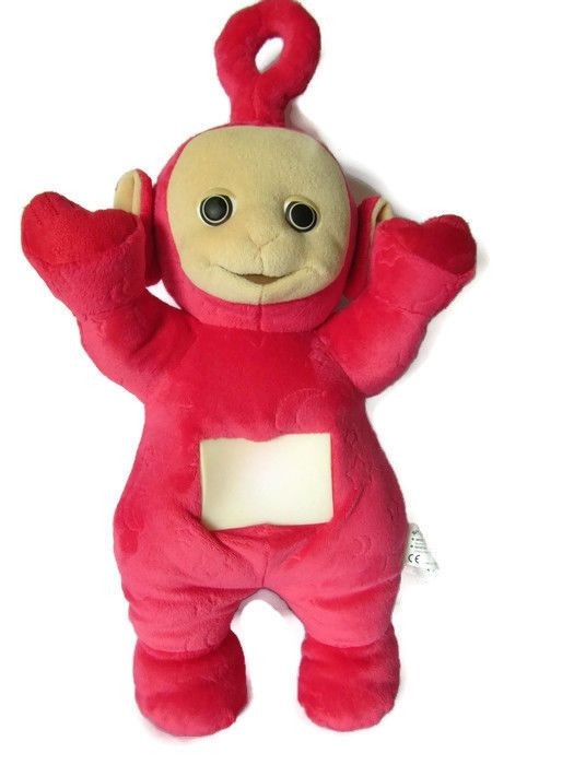 Teletubbies PO Light Up Colour Changing Tummy Talking Musical Soft Toy Tomy 1996