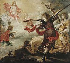 Flagelación de San Jerónimo VALDÉS LEAL, Juan de (Sevilla, 1622 - 1690) Óleo sobre Lienzo 223,5 x 245,5 cm. h.1657