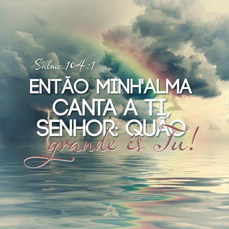 Me ouvistes senhor :) #grata Mais