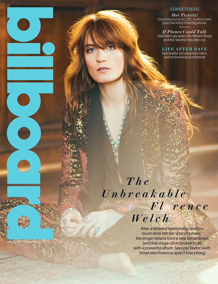122 best pop music mag covers images on pinterest magazine covers billboard cover florence welch on bouncing back from a breakdown and the life changing fandeluxe Choice Image