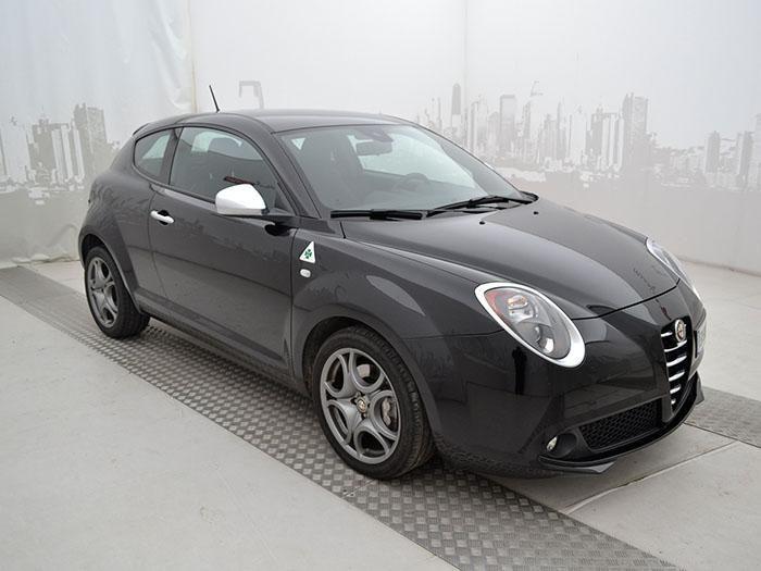 Alfa Romeo Mito 1.4 Multiair TB 170 CV S&S Quadrifoglio verde, color Nero, a 12.700 €. #AlfaRomeo #Mito #autousate #MirafioriOutlet