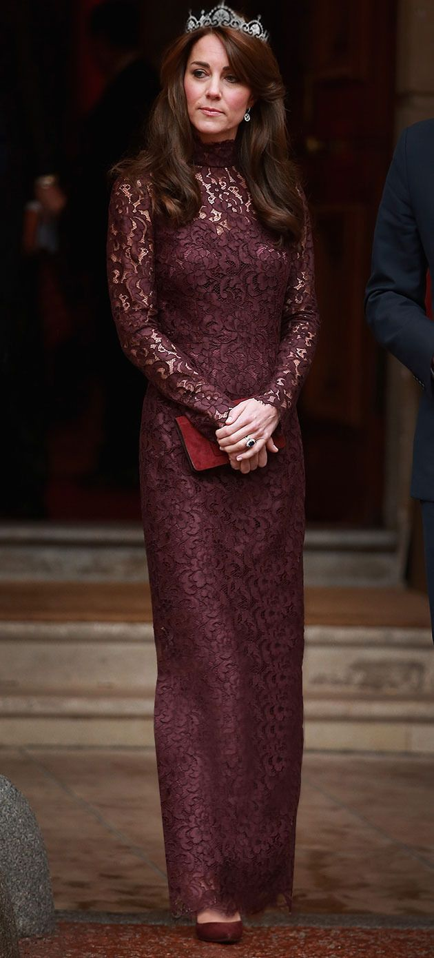 """The Duchess of Cambridge at the Chinese State Banquet on Tuesday, October 20, 2015."" -X"