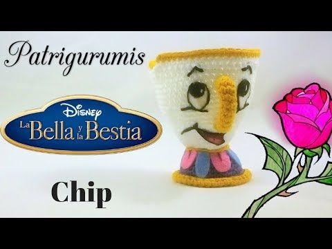 Taza Chip Amigurumi [PARTE 1] - YouTube