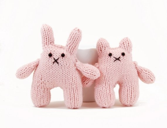 Beatrice and Bernard The Inseparable Bunny and Bear Knitting Pattern Pdf