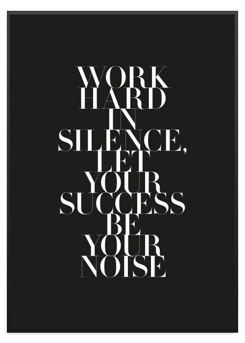 Poster Store Success Affisch