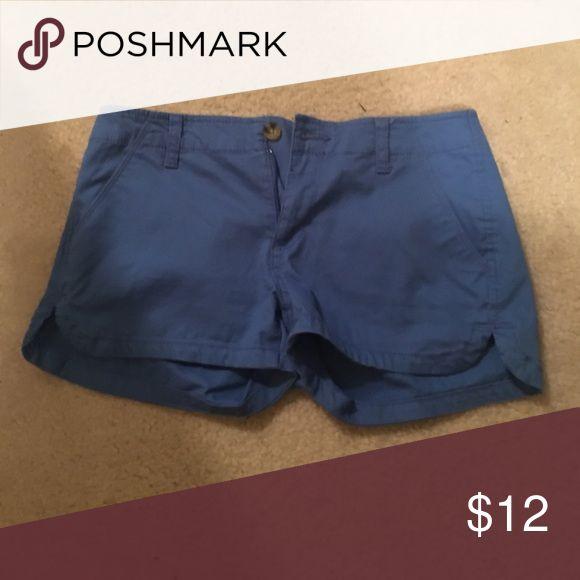 Bright blue jean shorts LIKE NEW Shorts Jean Shorts