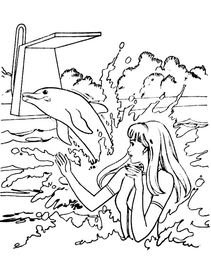 Pin By Tsvetelina On Barbie Coloring Barbie Coloring Pages